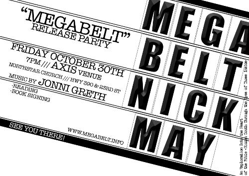 Megabelt Release - October 30